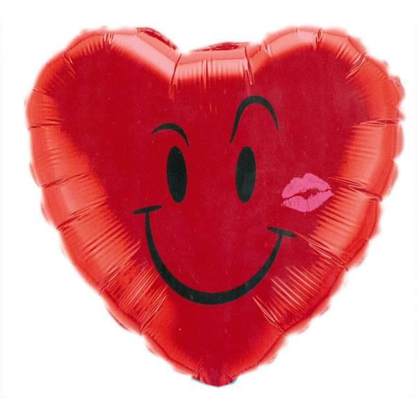 Valentijn Smiley Ballon